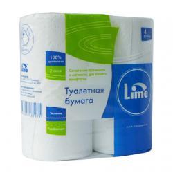 Туалетная бумага Lime в стандартных рулонах