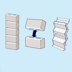 Бумажные полотенца Tork PeakServe 100585 с непрерывной подачей