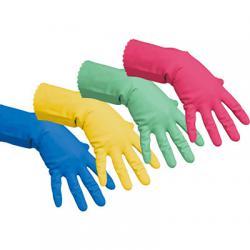 Перчатки резиновые многоцелевые, разные цвета