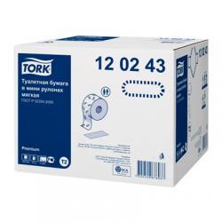 Tork туалетная бумага в мини-рулонах мягкая
