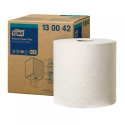 Рулонная бумага для протирки Tork Plus