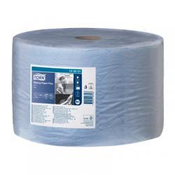 Бумага для протирки Tork Плюс, цвет - голубой