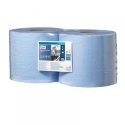 Голубая протирочная бумага Tork в рулоне