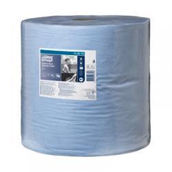 Бумага для протирки Tork, цвет - голубой