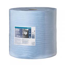 Суперпрочная бумага для протирки Tork, цвет - голубой