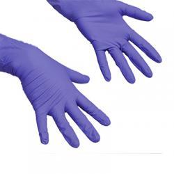 Перчатки одноразовые резиновые ЛайтТафф