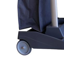 Колесо с педалью тормоза для тележек Волео Про