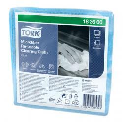 Салфетки Tork Microfiber Re-Usable Cleaning Cloth, синий