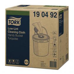 190492 Безворсовый нетканый материал в ведре Tork W10