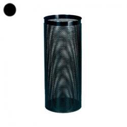 Урна для мусора Титан, 30 л, цвет черный
