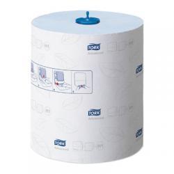 Tork Matic полотенца в рулонах, синего цвета, 2 слоя