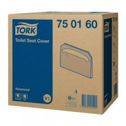 Индивидуальные бумажные покрытия на унитаз Tork
