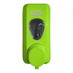 Диспенсер для мыла-пены в картриджах Lime, зеленый