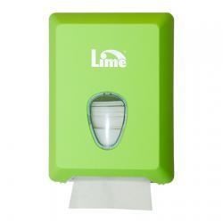 Зеленый диспенсер Lime для туалетной бумаги в пачках