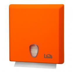 Оранжевый диспенсер для бумажных полотенец Lime Z-укладки