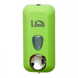 Зеленый диспенсер Lime для мыла в картриджах