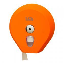 Оранжевый диспенсер Lime Mini для туалетной бумаги в рулонах