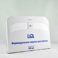 Одноразовые бумажные сиденья Lime Maxi в пачке 250 шт