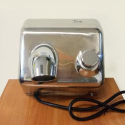 Электросушилка для рук Clean River с кнопочным включением