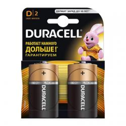 Батарейки Duracell D LR20 MN1300 2 шт