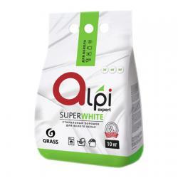 Порошок Grass Alpi Expert для белого белья, 10 кг