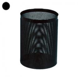 Корзина для бумаг Титан, 16 л, цвет черный