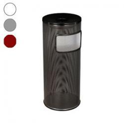 Перфорированная урна-пепельница Титан, 30 л, цвет на выбор