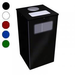 Урна для мусора Титан Квадро-11, 80 л, цвет на выбор
