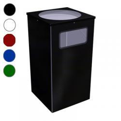 Урна для мусора Титан Квадро-13, 80 л, цвет на выбор
