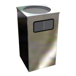 Урна для мусора Титан Квадро-15, 80 л