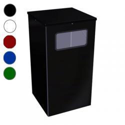Урна для мусора Титан Квадро-19, 80 л, цвет на выбор