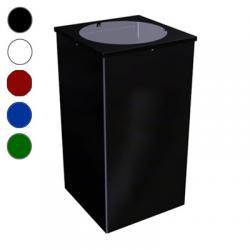Урна для мусора Титан Квадро-24, 80 л, цвет на выбор