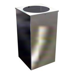 Урна для мусора Титан Квадро-26, 80 л