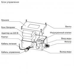 Ksitex M-8155 автоматический сенсорный смеситель, латунь
