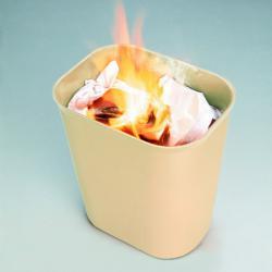 Огнеупорная корзина для бумаг Rubbermaid 26,5 л