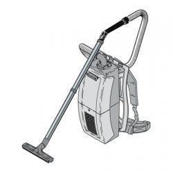 Ранцевый пылесос Cleanfix RS 05