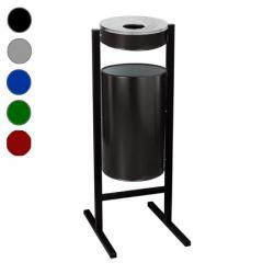 Урна-пепельница Титан СтритЛайн, 36 л, цвет на выбор