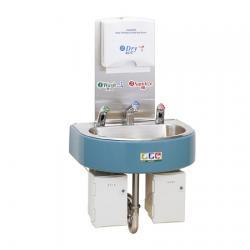 Сенсорная станция Saraya WS-3000 для антисептика, жидкого мыла и воды