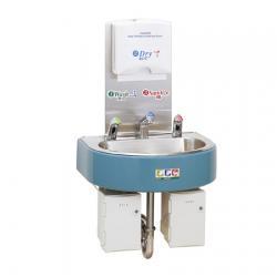 Сенсорная станция Saraya WS-3000F для антисептика, пенного мыла и воды