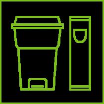 Урны, ведра для мусора