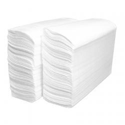Листовые полотенца Lime, белый цвет, Z-укладка 230220