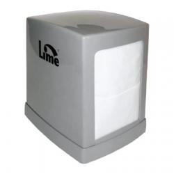 Настольный диспенсер Lime для салфеток, серый