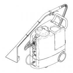 Ковромоечная машина Cleanfix TW 1250